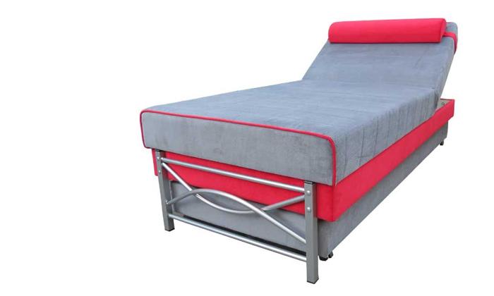 2 מיטת יחיד אורתופדית נפתחת