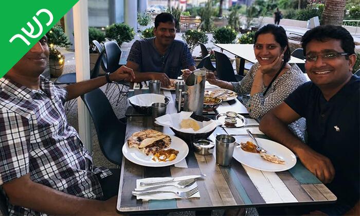 6 ארוחה זוגית כשרה במסעדת קארילינה, רמת החייל תל אביב