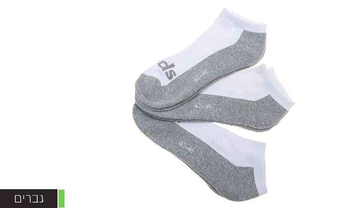 3 מארז 18 זוגות גרביים לגברים KEDS