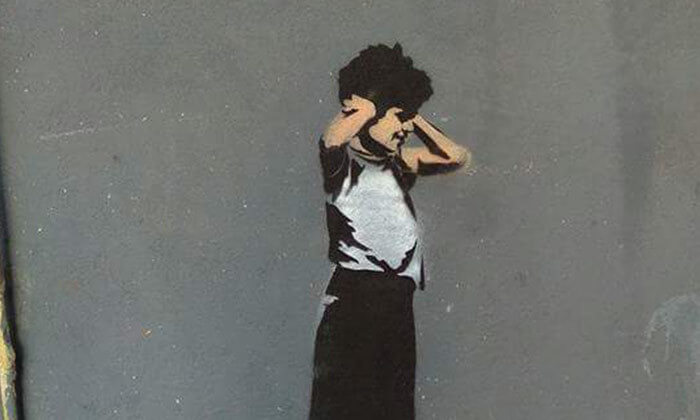 4 סיור בתערוכת אמנות רחוב 'הקומה השביעית', תחנה מרכזית - תל אביב
