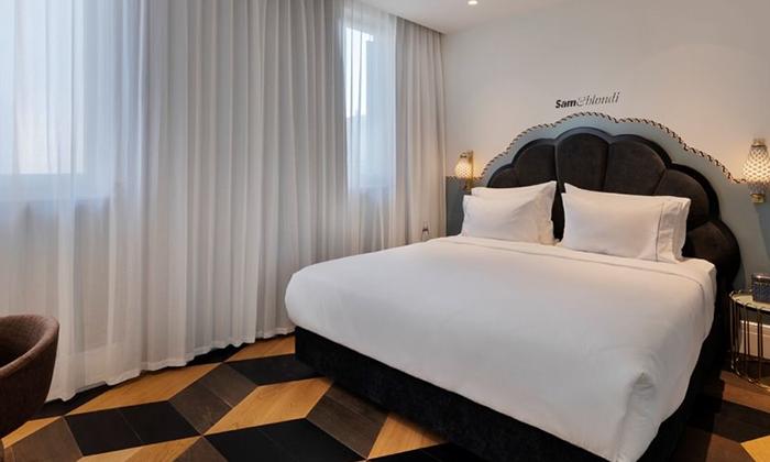 """4 מלון בוטיק Sam&Blondi ת""""א, כולל סופ""""ש"""