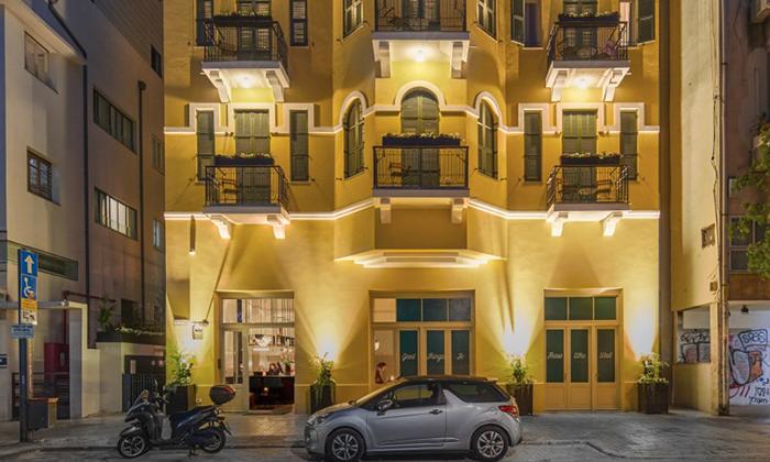 """2 מלון בוטיק Sam&Blondi ת""""א, כולל סופ""""ש"""