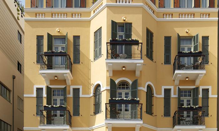 """6 מלון בוטיק Sam&Blondi ת""""א, כולל סופ""""ש"""
