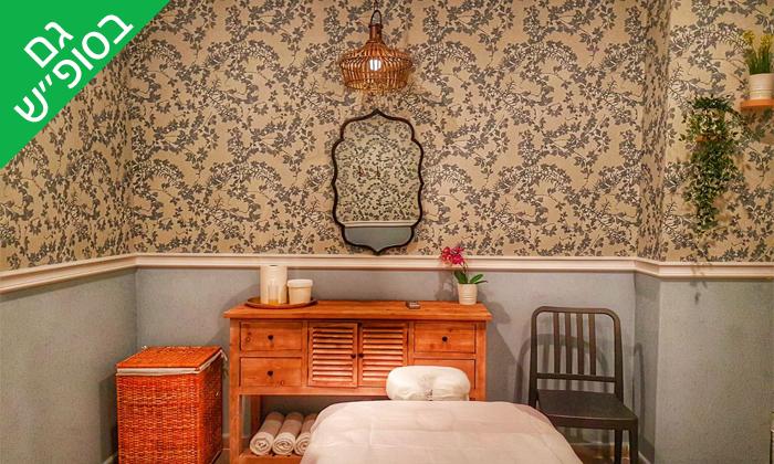 9 חבילת עיסוי וספא במלון אוליב Olive, הגלבוע