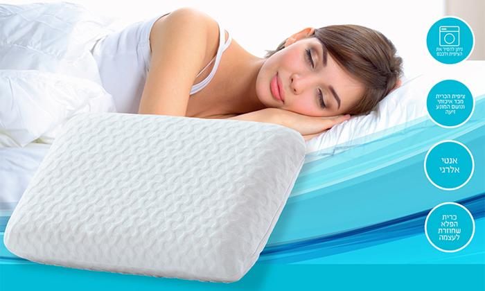 3 מארז 3 כריות שינה ויסקו SWISS NIGHT