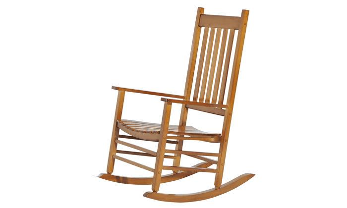 6 כיסא נדנדה מעץ במבחר צבעים