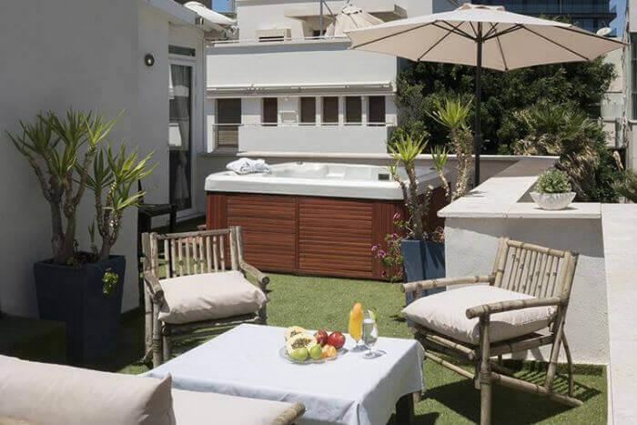 7 מלון בוטיק TLV88, תל אביב