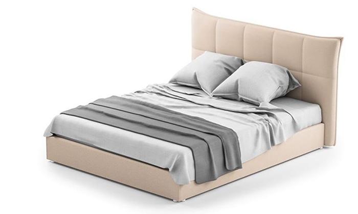 2 מיטה זוגית מרופדת
