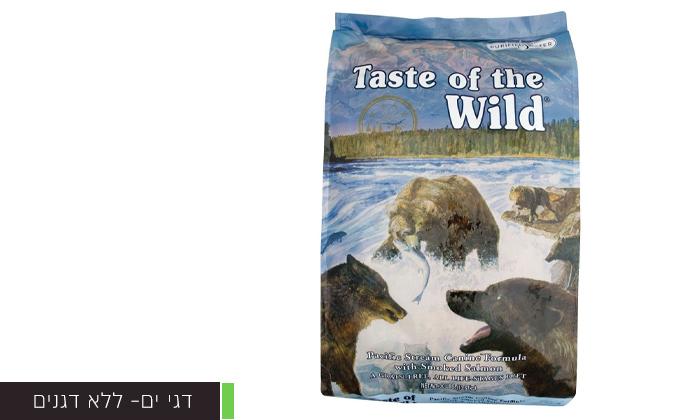 """7 2 שקי מזון יבש לכלבים Taste of the Wild במשקל 12.2 ק""""ג"""