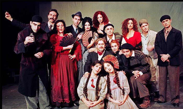 2 המחזה בוסתן ספרדי עם יעקב כהן, גלית גיאת ועוד, תיאטרון הבימה