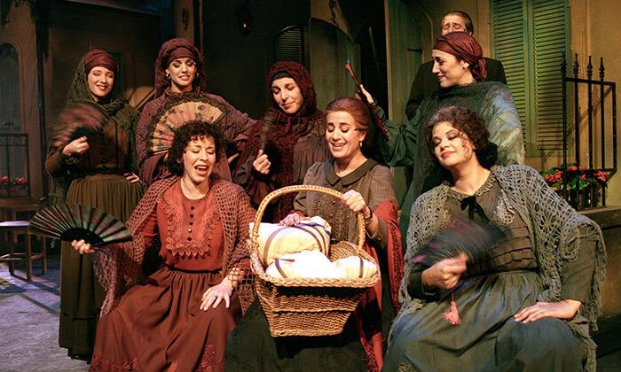 3 המחזה בוסתן ספרדי בתיאטרון הבימה