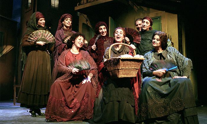 4 המחזה בוסתן ספרדי בתיאטרון הבימה