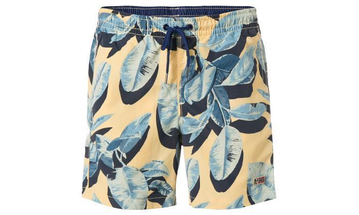 3 מכנסי שורט בגד ים לגברים Napapijri