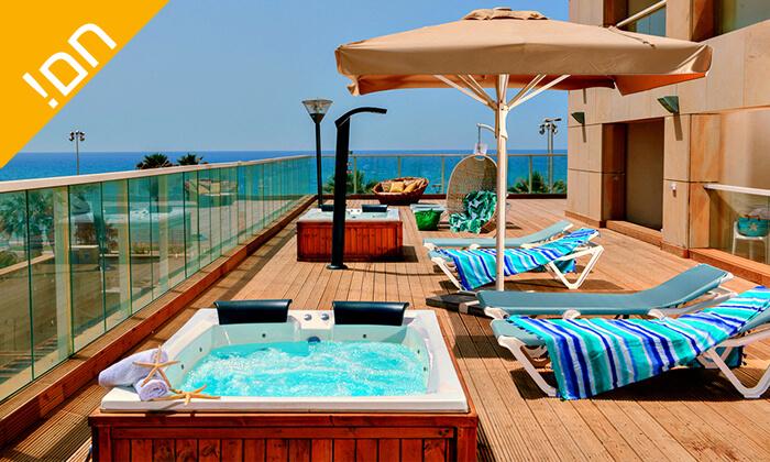4 חבילת ספא זוגית במלון לאונרדו סוויט בת ים