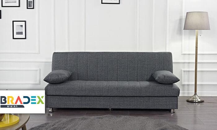 2 ספה תלת מושבית נפתחת למיטה BONO