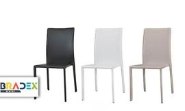 כסא לפינת אוכל CITY מרופד דמוי עור