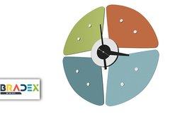 שעון קיר Petal