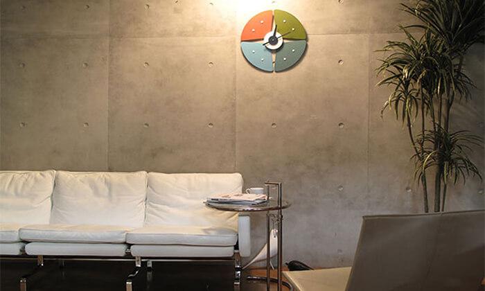 3 שעון קיר Petal