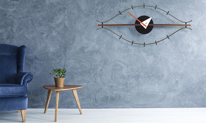 3 שעון קיר Eye Clock
