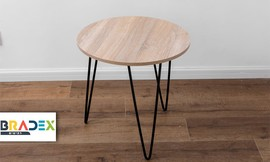 שולחן צד עגול KRISTOFF