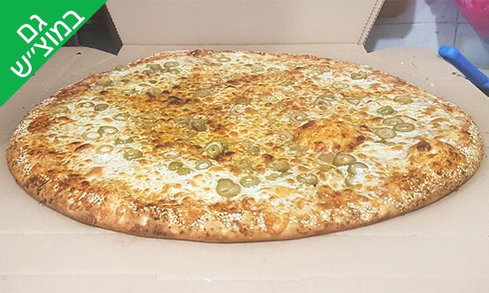 4 מגש פיצה משפחתית מפיצה בר, נתיבות