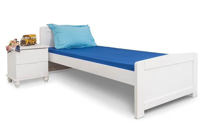 2 מיטת יחיד מעץ מלא Highwood