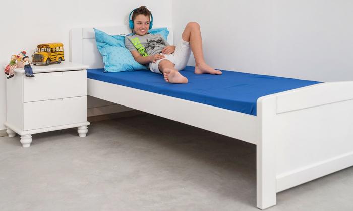 4 מיטת יחיד מעץ מלא Highwood