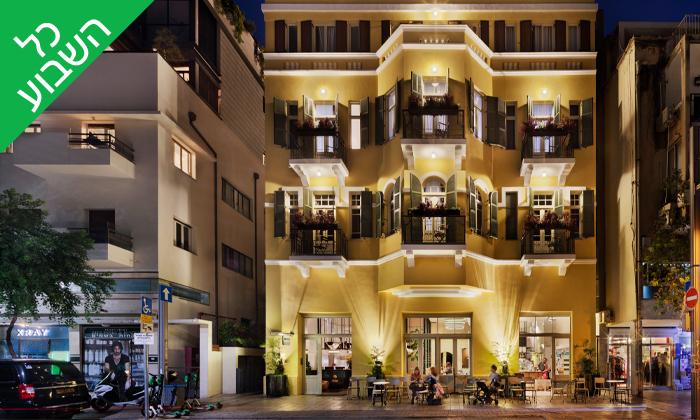 2 חבילת ספא במלון הבוטיק סאם ובלונדי, שנקין תל אביב