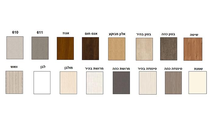 6 ארון הזזה 2 דלתותHouse Design במבחר דגמים