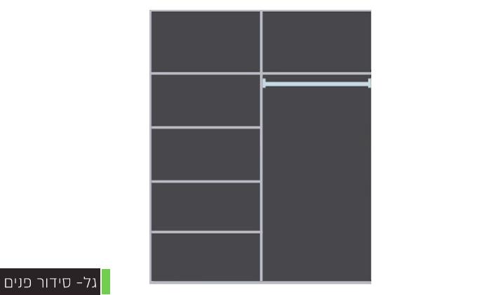 7 ארון הזזה 2 דלתותHouse Design במבחר דגמים