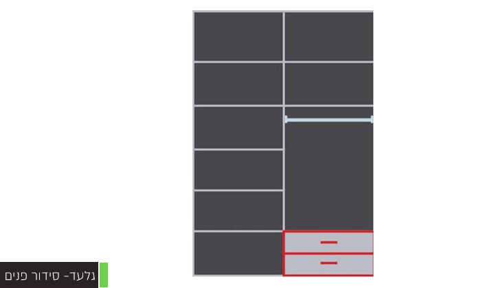 8 ארון הזזה 2 דלתותHouse Design במבחר דגמים