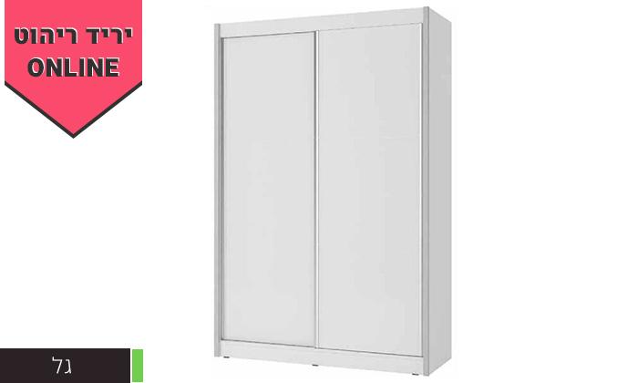 3 ארון הזזה 2 דלתותHouse Design - דגמים לבחירה