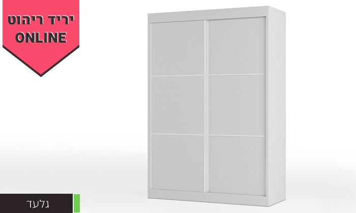 5 ארון הזזה 2 דלתותHouse Design - דגמים לבחירה
