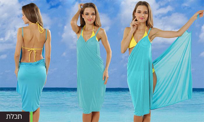 4 בגד חוף אקזוטי