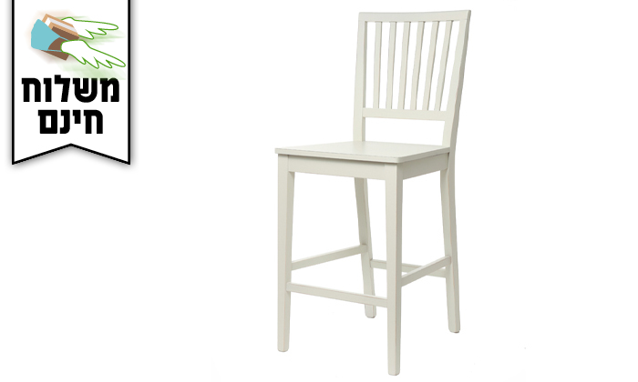 3 ביתילי: כיסא בר דגם אסיינדה - משלוח חינם