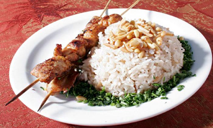 3 ארוחה זוגית במסעדת נוף הוואדי, עין חוד
