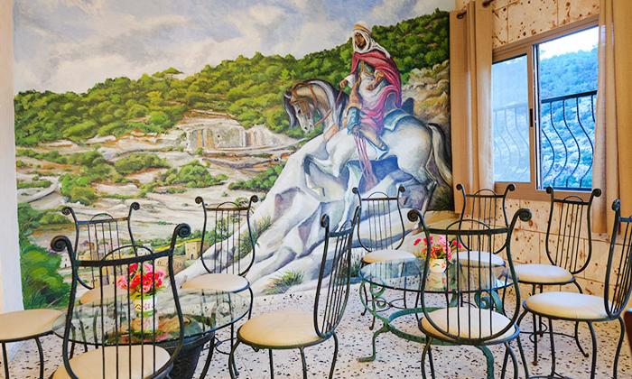 6 ארוחה זוגית במסעדת נוף הוואדי, עין חוד
