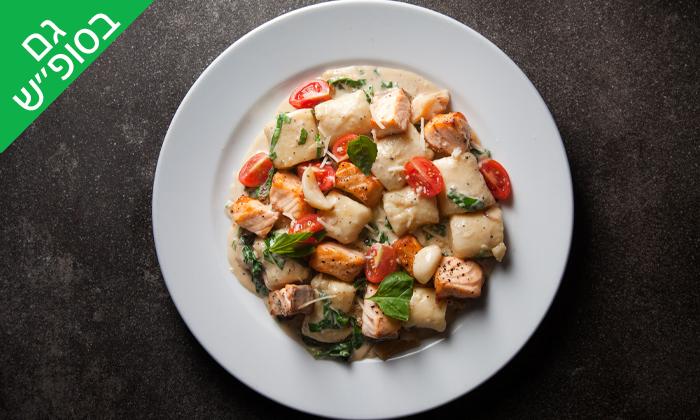 2 ארוחה זוגית במסעדת פרנצ'סקה בים, טיילת ראשון לציון