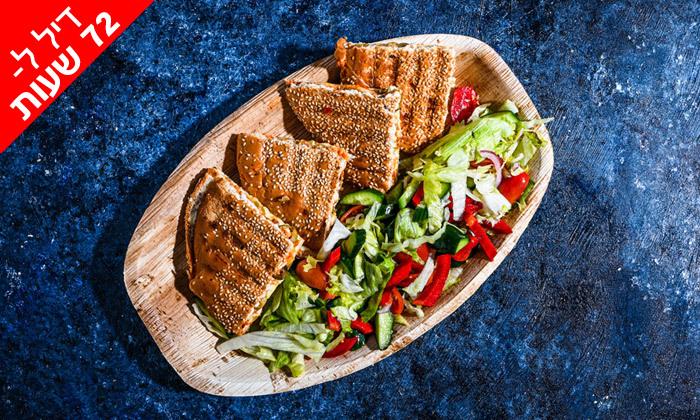 3 דיל לזמן מוגבל: ארוחה זוגית בסטלה ביץ' - דג על הים, בת-ים