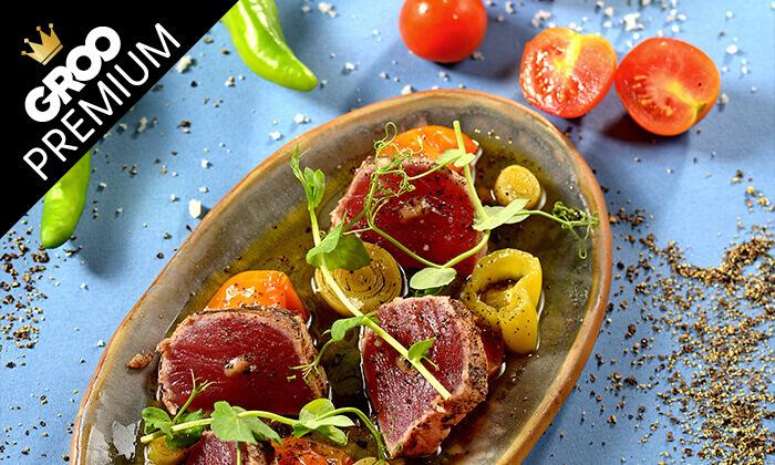 """13 מסעדת טפאו TAPEO הרצליה ות""""א - ארוחת שף זוגית"""