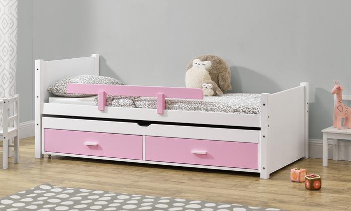 5 מיטת ילדים עם מיטת חבר HOME DECOR