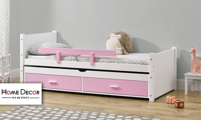 2 מיטת ילדים עם מיטת חבר HOME DECOR