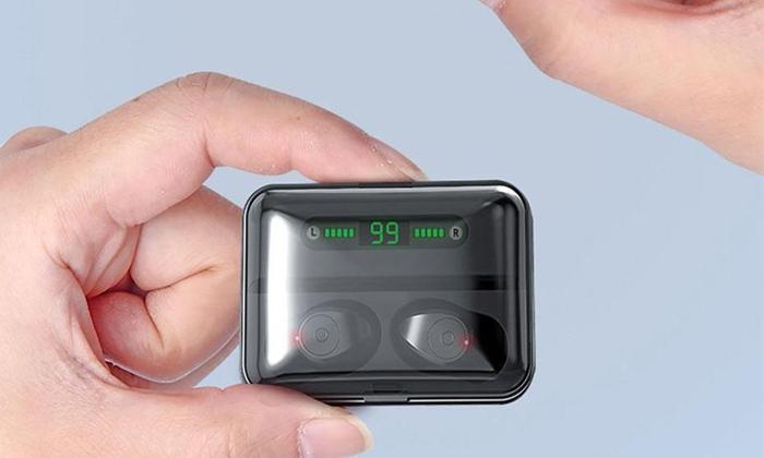 5 אוזניות כפתור Bluetooth אלחוטיות