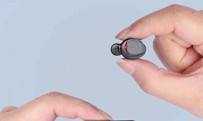 4 אוזניות כפתור Bluetooth אלחוטיות