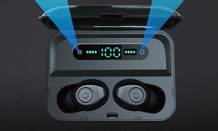 3 אוזניות כפתור Bluetooth אלחוטיות