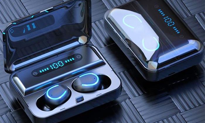 7 אוזניות כפתור Bluetooth אלחוטיות