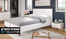 מיטה עם ארגז מצעים דגם קופידון
