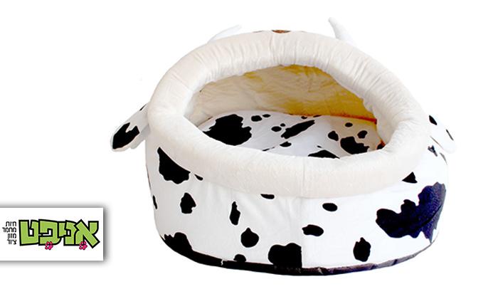 2 מיטת פרה לכלב ולחתול