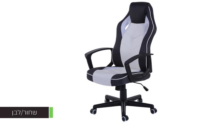 6 כסא גיימינג ארגונומי Homax