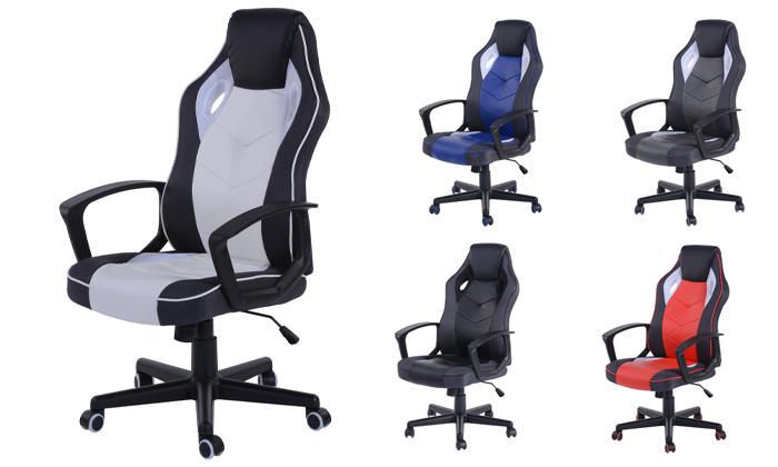 2 כסא גיימינג ארגונומי Homax